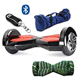 Gooplayer X1L8 – UL2272 Certified Hoverboard – 8 Inch Lanborghini Electric LED on Wheel Self-Balancing Scooter with Bluetooth (US Warehouse)
