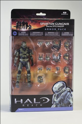 McFarlane Toys Spartan Gungnir Deluxe Armour Pack - Halo Reach Series 5 Deluxe Box Set