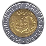 1989 San Marino Bi%2Dmetallic 500 Lira C