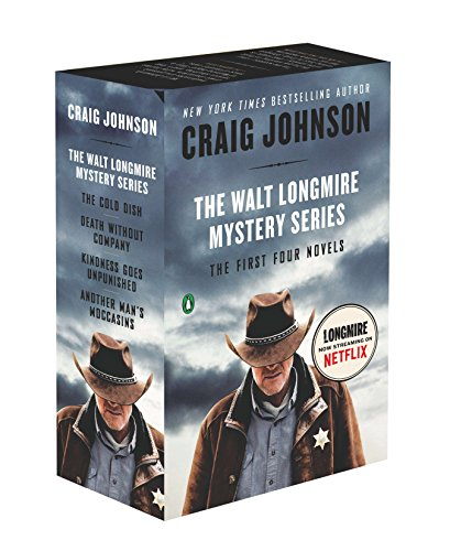The Walt Longmire Mystery Series Boxed Set Volumes 1-4: The First Four Novels (Walt Longmire Mysteries) (Best Comedy Novels By Indian Authors)