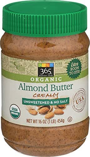Peanut & Nut Butters: 365 Everyday Value Organic Almond Butter