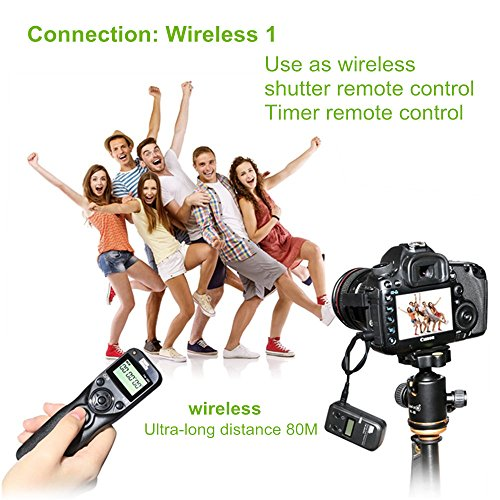 PIXEL TW-283 L1 Wireless Remote Control Wired Shutter Release Cable for Panasonic Cameras by PIXEL (Image #3)