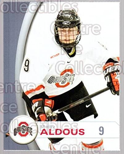 Shelby Aldous Hockey Card 2006-07 Ohio State Buckeyes Women #19 Shelby Aldous