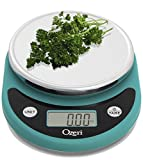 Ozeri ZK14-T Pronto Digital Multifunction Kitchen and Food Scale, Teal Blue