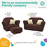 Keet Plush Childrens Set, Sofa, Chair and