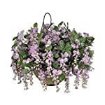 House-of-Silk-Flowers-Artificial-Wisteria-Hanging-Basket-Purple