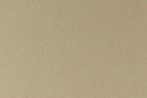 Organic Cotton Denim Fabric - 12 Ounce - Natural - By the Yard
