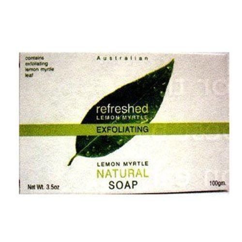 Tea Tree Therapy Myrtle Natural Soap, Lemon, 3.5 (Australian Lemon Myrtle Oil)