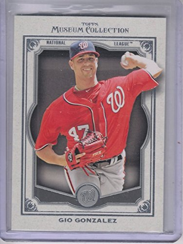 2013 Topps Museum Collection #49 Gio Gonzalez -