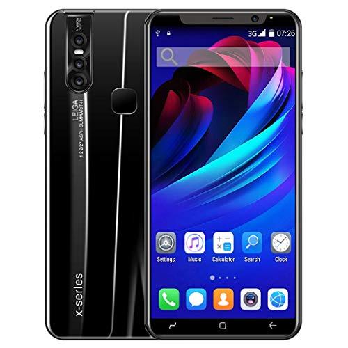 HSKB X27 Pro Smartphone zonder abonnement, 8-core processor, 5,0 inch scherm, ontgrendeling met gezichtsherkenning, 3500…
