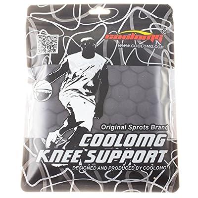 COOLOMG Pad Crash Proof Basketball Leg Knee Long Sleeve Protector Gear