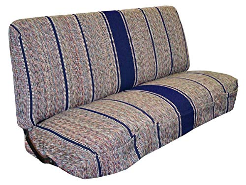 Full Size Truck Bench Seat Covers - Fits Chevrolet, Dodge, and Ford Trucks (Navy)