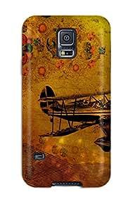 Imogen E. Seager's Shop Special Design Back Vector Artistic Abstract Artistic Phone Case Cover For Galaxy S5 02VFWZZUFPD3E3AS