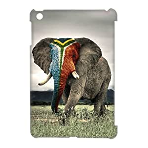 Ipad Mini Elephant 3D Art Print Design Phone Back Case Use Your Own Photo Hard Shell Protection JK082449