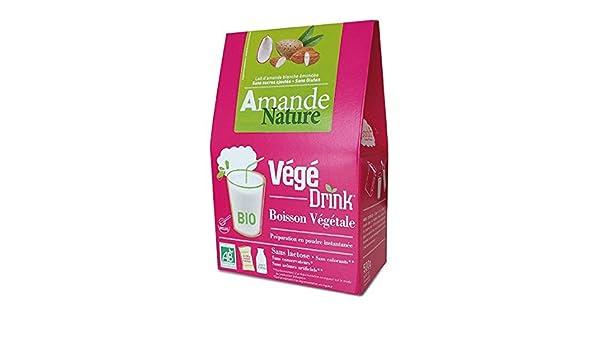 De bardo végédrink almendra naturaleza Bio bebida en polvo 500 g: Amazon.es: Salud y cuidado personal