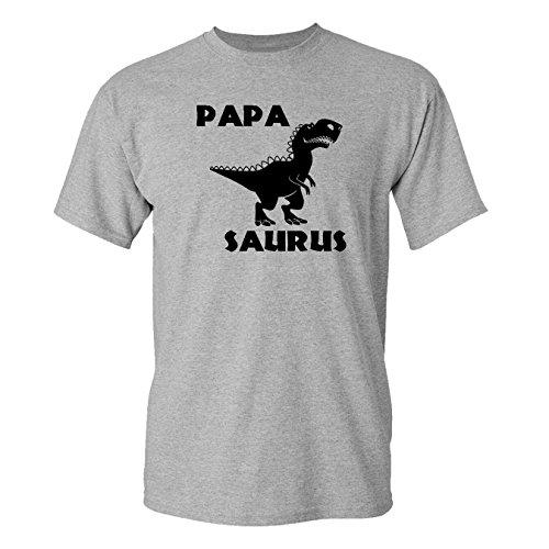 Mashed Clothing Papa Saurus T-Rex Dinosaur Adult T-Shirt