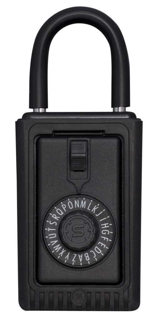 Kidde AccessPoint 00524 KeySafe Original 3-Key Portable, Spin Dial, Black by General Electric