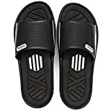 welltree Men's Slide Slipper Shower/Pool/Beach/Garden Quick Drying Sandal