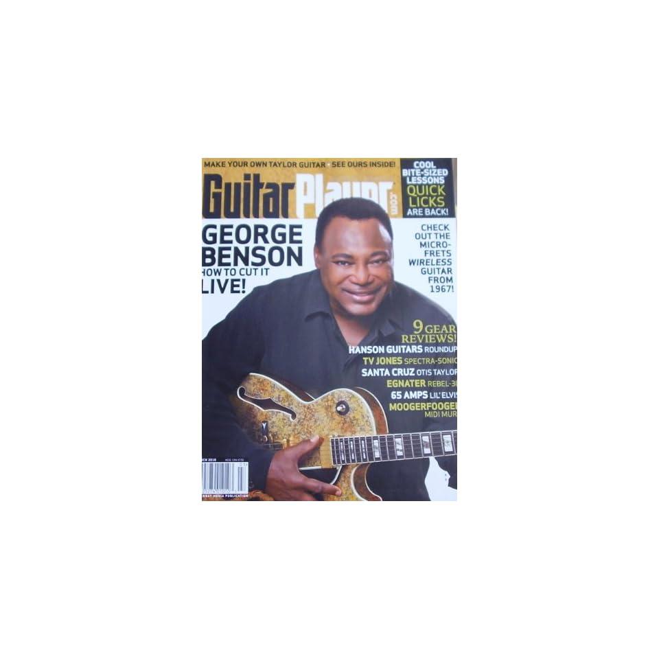 Guitar Player Magazine George Benson March 2010