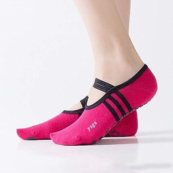 XRHYJW 3Pcs Calcetines De Yoga Mujeres Deporte Calcetines De ...