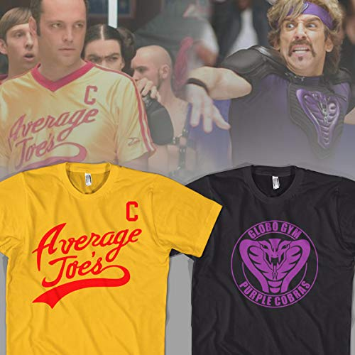 Dodgeball Halloween Costume Average Joe's Purple Cobras For Friends Duo Couples Party Cheap and ()