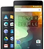 OnePlus Two Smartphone 5.5 Pollici Touch ID Snapdragon 810 Octa Core 64bit 1.8GHz Dual SIM 4GB RAM 64GB ROM Nero