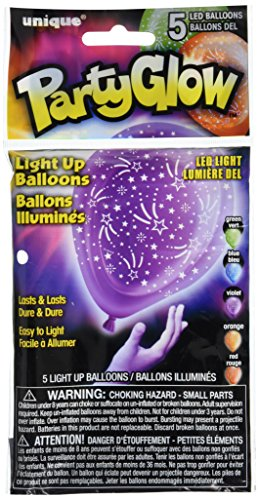 Stars LED Light Balloons Assorted product image