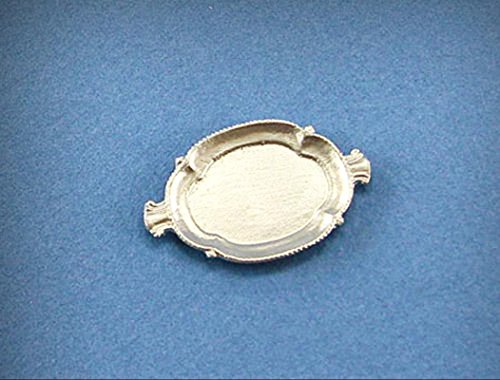 1:12 Scale Dollhouse Miniature Fancy Serving Platter #JLM154 - My Mini Fairy Garden Dollhouse Accessories for Outdoor or House Decor - 1 Platter