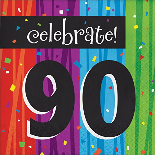 Milestone Celebrations 90th Birthday Napkins, 48 ct]()