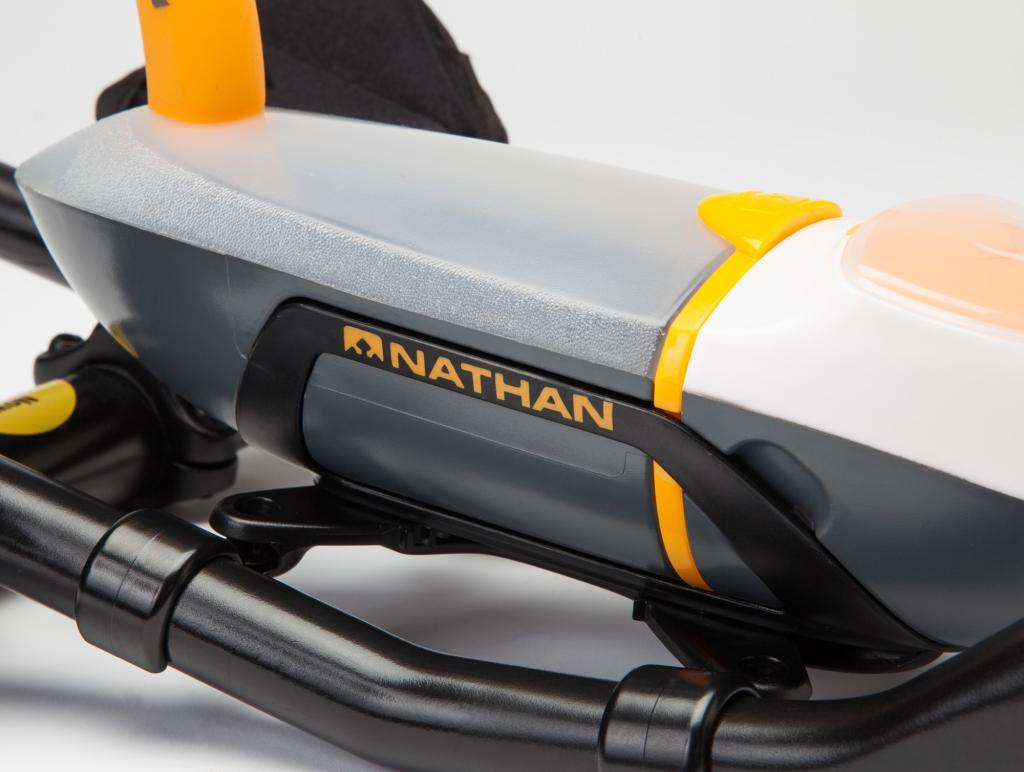 Amazon Com Nathan Ap Pro White Grey Orange Sports
