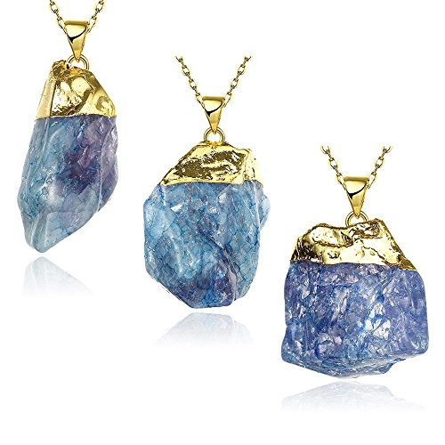 [Fashion Natural Return True Crystal Necklace] (Kida Atlantis Costume)