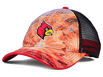 Louisville Cardinals New NCAA Brilliant Mesh Adjustable Fit Hat One Size OSFA $25