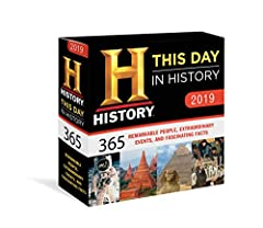 The #1 history calendar, from one of the most relied-upon and best-respected sources of historical material, The History Channel. Perfect for history buffs and trivia lovers alike, this 2019 boxed calendar assembles a year of the most ...