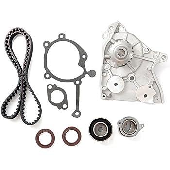 Timing Belt Water Pump Tensioner Kit, ECCPP for 1987-1993 Ford Probe Mazda 626 B2200 MX-6 12V 2.2L SOHC Eng Code F2G F2L F2-T