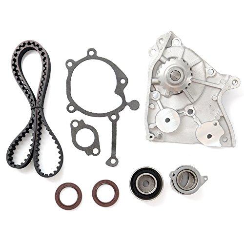 Gl Accessory Belt Tensioner (Timing Belt Water Pump Tensioner Kit, ECCPP for 1987 - 1993 Ford Probe Mazda 626 B2200 MX-6 12V 2.2L SOHC Eng Code F2G F2L F2-T)