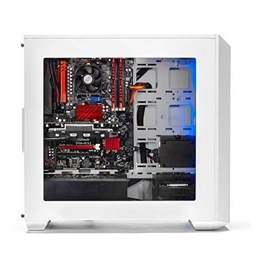 SkyTech Oracle - Gaming Computer PC Desktop - AMD FX-6300 3.5 GHz, 120GB SSD, GTX 1050 2GB, 1TB HDD, 16GB DDR3, 970 Chipset Motherboard, Windows 10 Home (GTX 1050 | FX-6300 | 16GB)