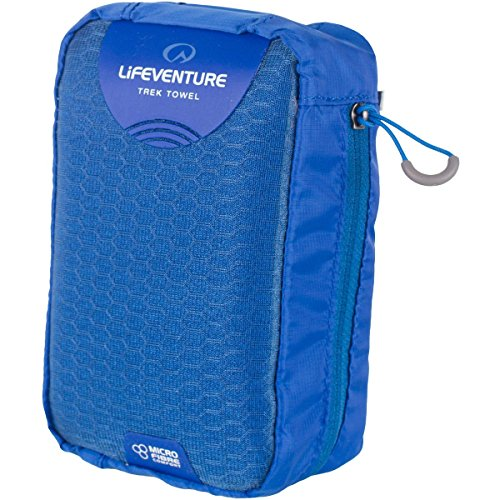 Towel Microfibre Trek (Lifeventure MicroFibre Trek Towel Large - Blue)