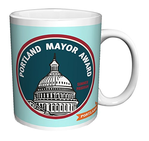 Portlandia Portland Mayor Award Satirical Sketch Comedy Indie TV Television Show Ceramic Gift Coffee (Tea, Cocoa) 11 Oz. - Indie Gifts