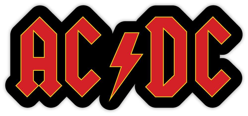ACDC AC/DC LOGO sticker decal 6
