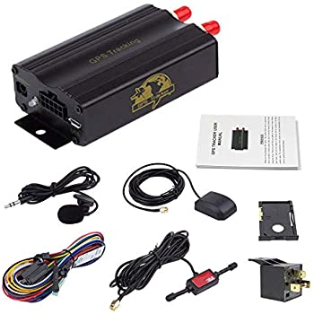 Amazon.com: Vehicle Car Motorcycle Personal GPS/GSM/GPRS/SMS ...