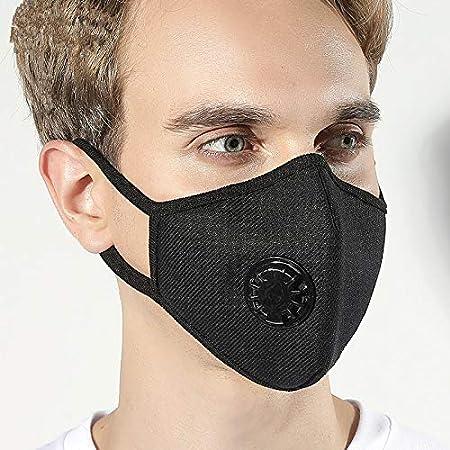 masque pollution coton