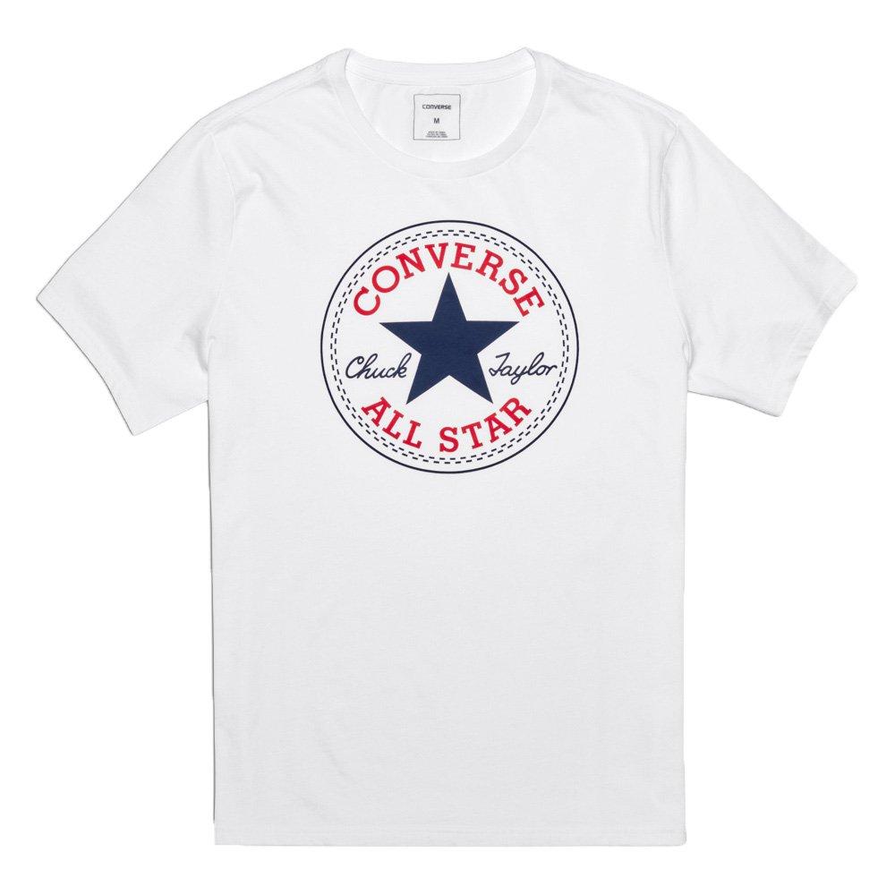 CONVERSE CORE CHUCK PATCH TEE - Camiseta, Hombre, Azul(DARK OBSIDIAN)
