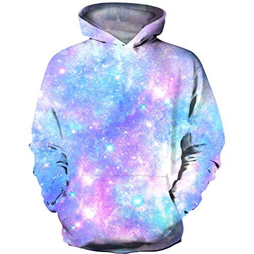 HaniLav Boys Girls 3D Print Graphic Sweatshirts Long Sleeve Pullover Hoodies Pocket,Pink ()