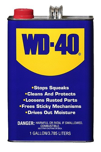 WD-40 10110 Heavy Duty Gallon Can (Pack of 4) by WD-40