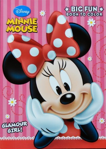 Disney Minnie Glamour 96 page Coloring