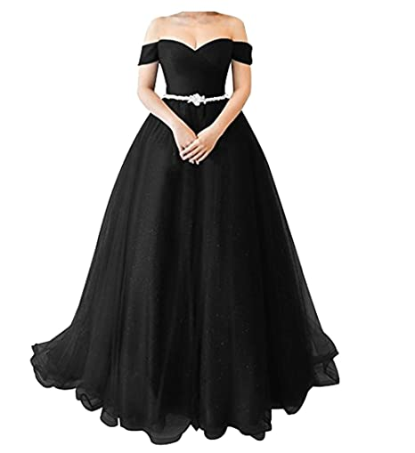Review XIA Women's Sweetheart Beaded Belt Simple Style Long Bridesmaid Dress Cheap Formal Evening Ball Gowns