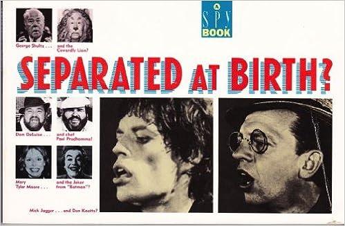 Separated At Birth >> Separated At Birth Spy Magazine 9780385247443 Amazon Com Books
