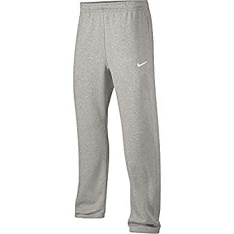 26f61da35a2b Amazon.com  Nike Mens Club Fleece Pants Heather Grey 826424 063 (L)  Sports    Outdoors