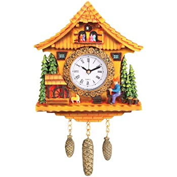 DPI Swiss Cottage Clock