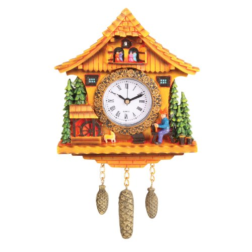 - DPI Swiss Cottage Clock